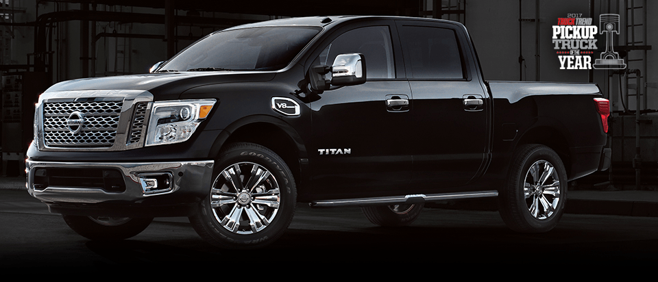 Black 2017 Nissan Titan for Sale near Newnan, GA.