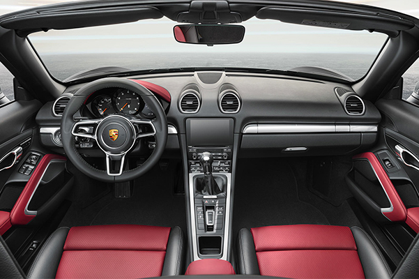 2019 Porsche 718 Boxster Interior & Technology