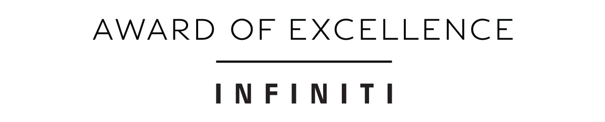 Award of Excellence INFINITI
