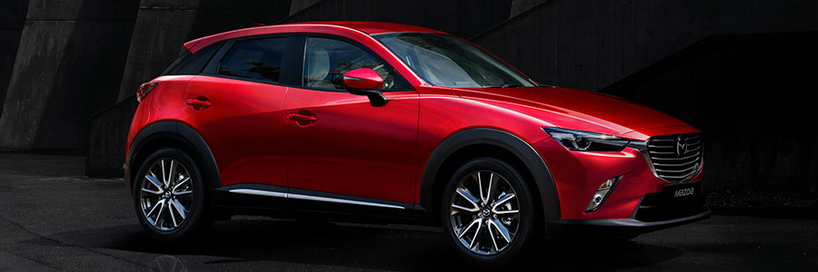 2018 mazda cx-3 red exterior