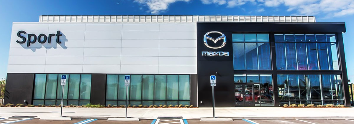 Mazda Dealership header