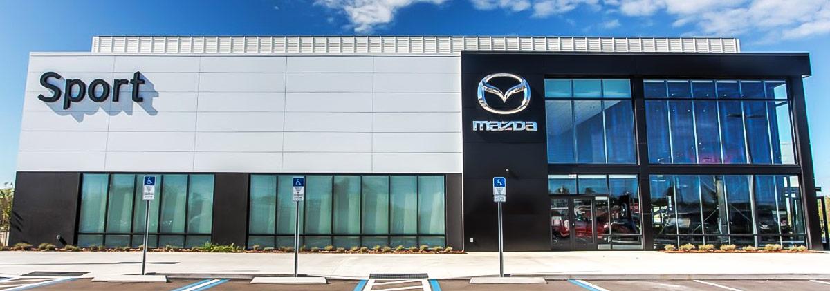 Mazda Dealership header