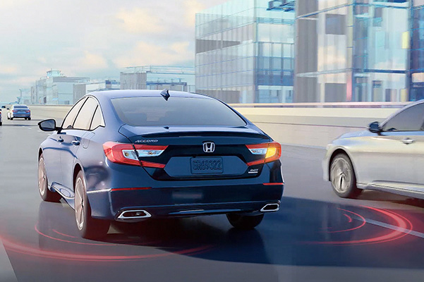 2020 Honda Accord lane assist
