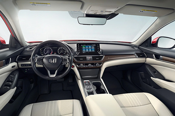 2020 Honda Accord interior dash