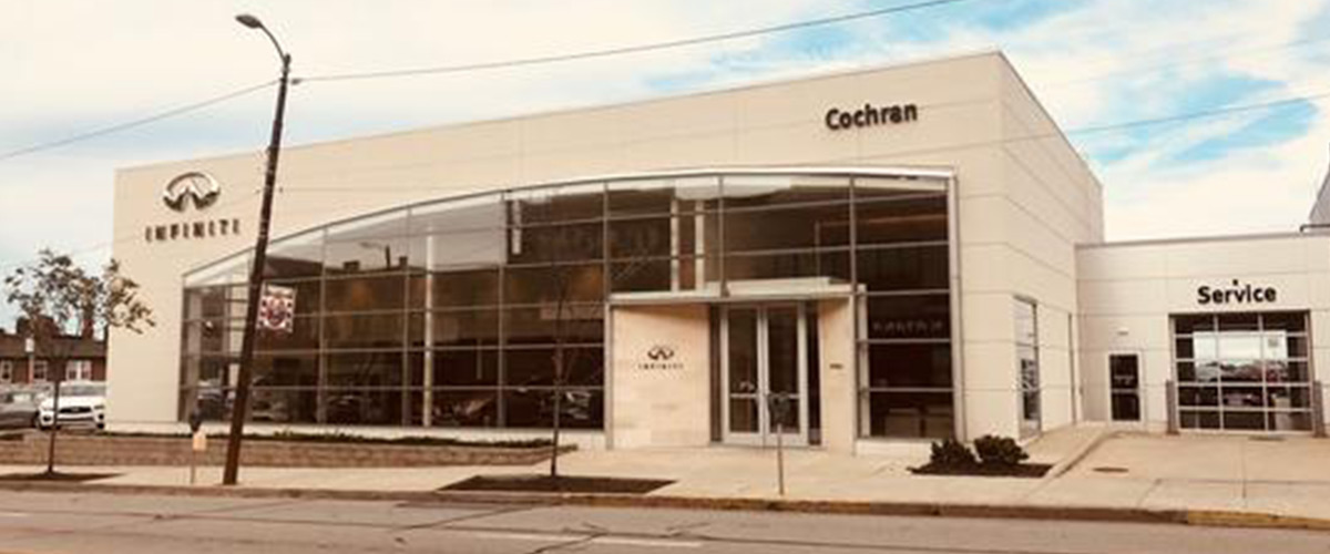 #1 Cochran INFINITI Gallery of South Hills - 3220 WEST LIBERTY AVENUE PITTSBURGH, PA 15216