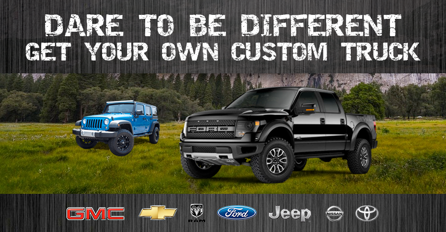 Explore Our Selection Of Custom Trucks