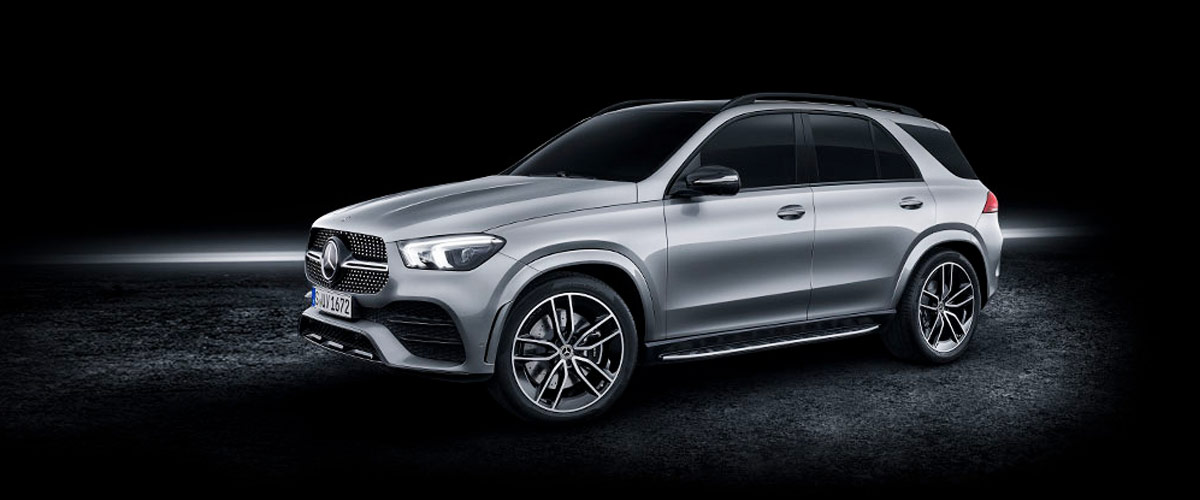 The 2020 GLE SUV header